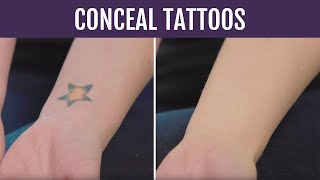 How to Conceal Tattoos | Body Coverage Tutorial | Westmore Beauty