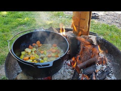 flammlachs,-dutch-oven-gemüse,-bbq-&-steak---kochen-und-spass-dabei!-easy-outdoor-cooking