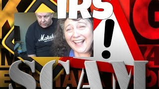 IRS SCAM CALL, BEST EVER, part I