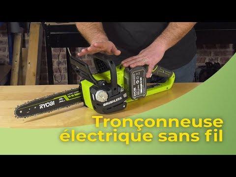 Tronçonneuse électrique sans fil