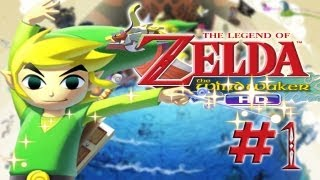 Zelda The Wind Waker HD FR WII U 1080p #1