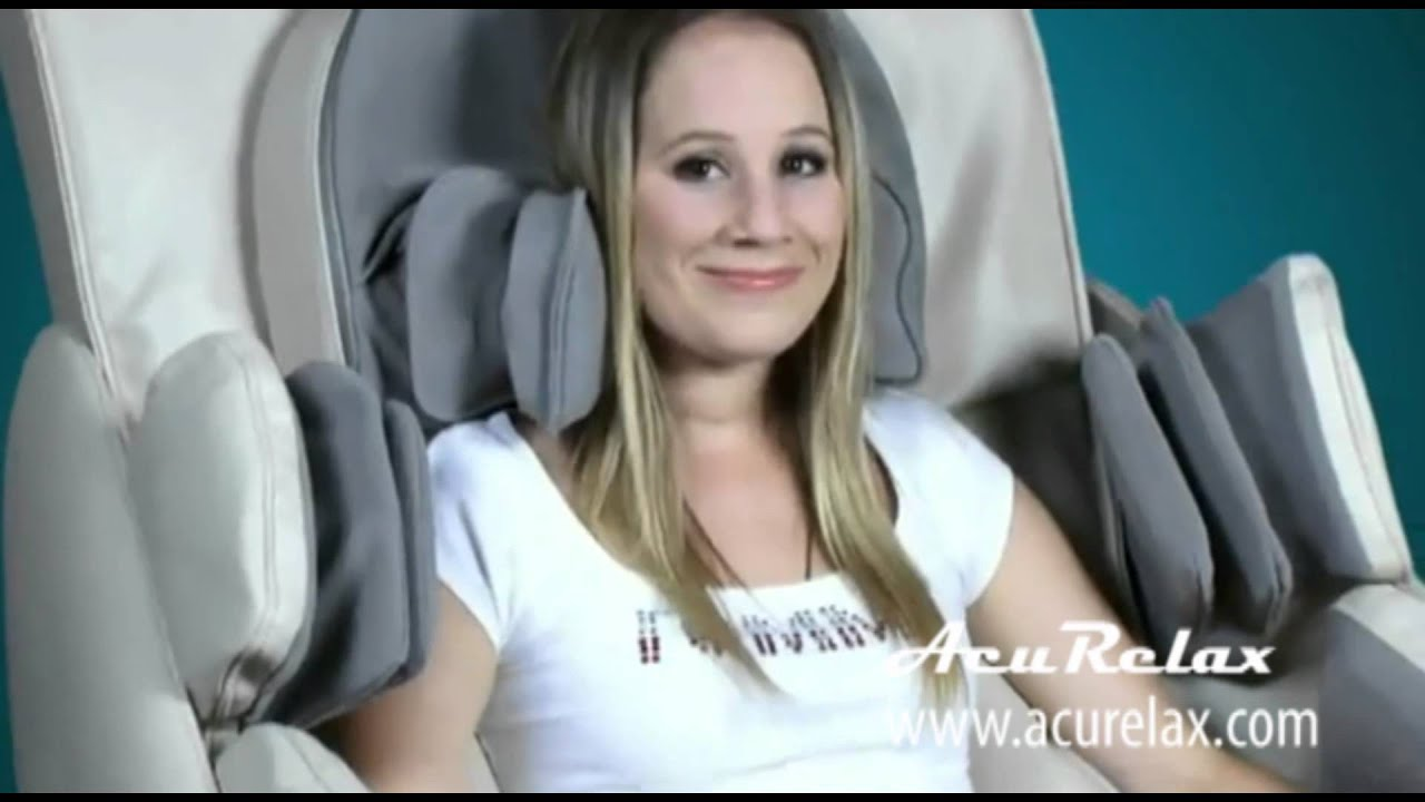Acurelax 3D A72 Zero Gravity Massage Chair   YouTube