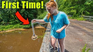 I Took My Girlfriend Magnet Fishing For The First Time And You Won't Believe What We Found