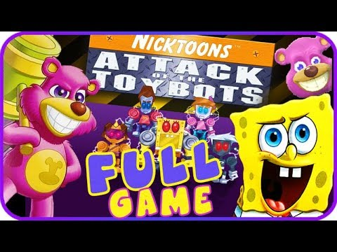 Nicktoons: Attack Of The Toybots FULL GAME Longplay (PS2, Wii)