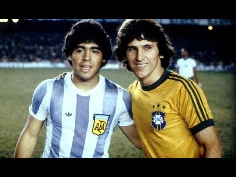 (1979) Maradona Vs Zico ● Brasil x Argentina ● The First Date