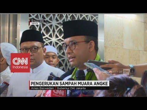 Anies Baswedan: Daerah Penyangga Jakarta Bantu Angkut Sampah - Pengerukan Sampah Muara Angke