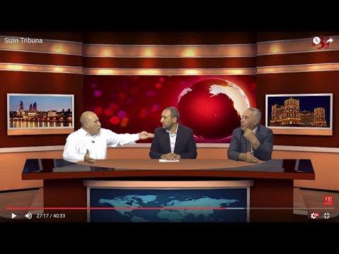 """Hafiz Hacıyev Pənah Hüseynlə debatda: """"Şəxsi marağım var ki, vitse-Prezident olum"""" - Sizin Tribuna"""