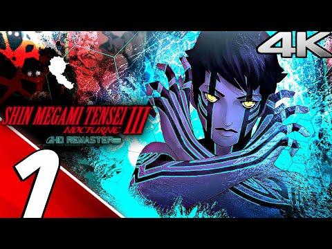 SHIN MEGAMI TENSEI 3 NOCTURNE HD Remaster - Gameplay Walkthrough Part 1 - Prologue (4K ULTRA HD)