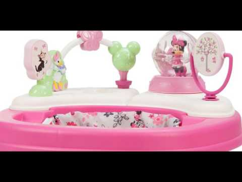 Disney Minnie Music and Lights Walker, Garden Delight, Minnie - Best Kids Ride on Toys