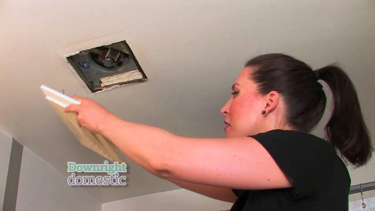 How to clean bathroom ceiling - How To Clean Your Bathroom Fan Greater Toronto Contractors