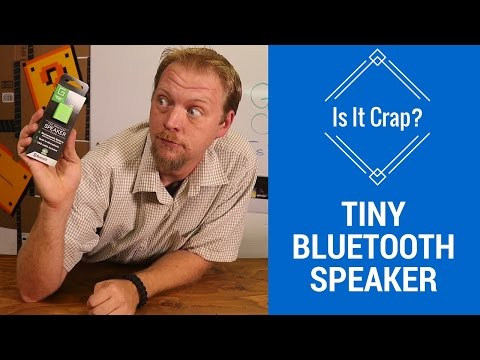 Small Bluetooth Speaker Groove Box - Is It Crap?