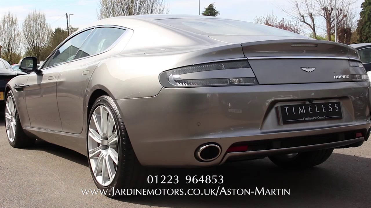Jardine motors group aston martin rapide lancaster for Jardine motors