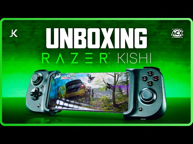 Controle Kishi Unboxing - Jogos para Celular / xCloud / Console Streaming