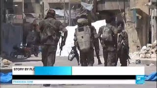 War in Syria: US-backed fighters celebrate victory over IS in Manbij