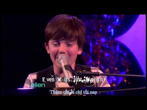 [Lyrics/ Kara+Vietsub] Waiting Outside The Lines - Greyson Chance