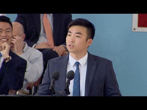 Male Orator Min-Woo Park | Harvard...