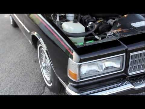 1989 Caprice Brougham 48K miles Box Chevy