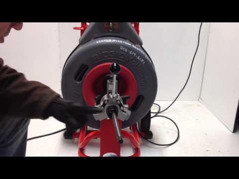 Ridgid K-7500 Drain Cleaning Discussion And Demonstration