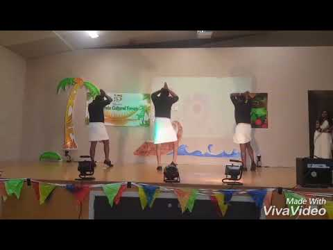 Velmuruga Remix Dance @ONAM Celebration.  CHRISTCHURCH,  NZ