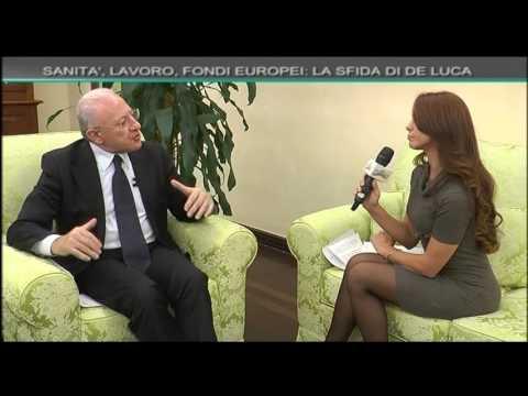 Mattina 9: Una lunga chiacchierata con il presidente della Regione Campania Vincenzo De Luca
