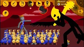 Spearton Gold And Spearton Skin Ice Update Vs Final Boss | Stick War Legacy | In