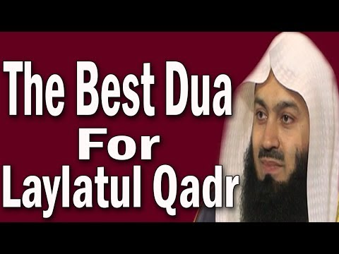 Download lagu Dua For Laylatul Qadr_The Night Of  Power Last 10 Nights | Mufti Menk  | Emotional
