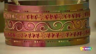 Acrilex – Técnicas – Pátina Cera