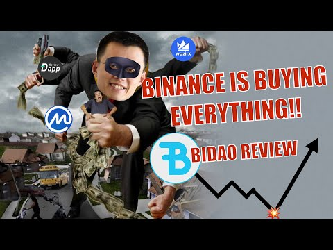BINANCE MONUMENTAL ACQUISITIONS & BIDAO REVIEW (Binance DeFi On BNB Coin) U.S. Investors MUST WATCH!