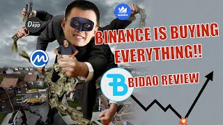 BINANCE MONUMENTAL ACQUISITIONS amp BIDAO REVIEW Binance DeFi on BNB coin U S Investors MUST WATCH!