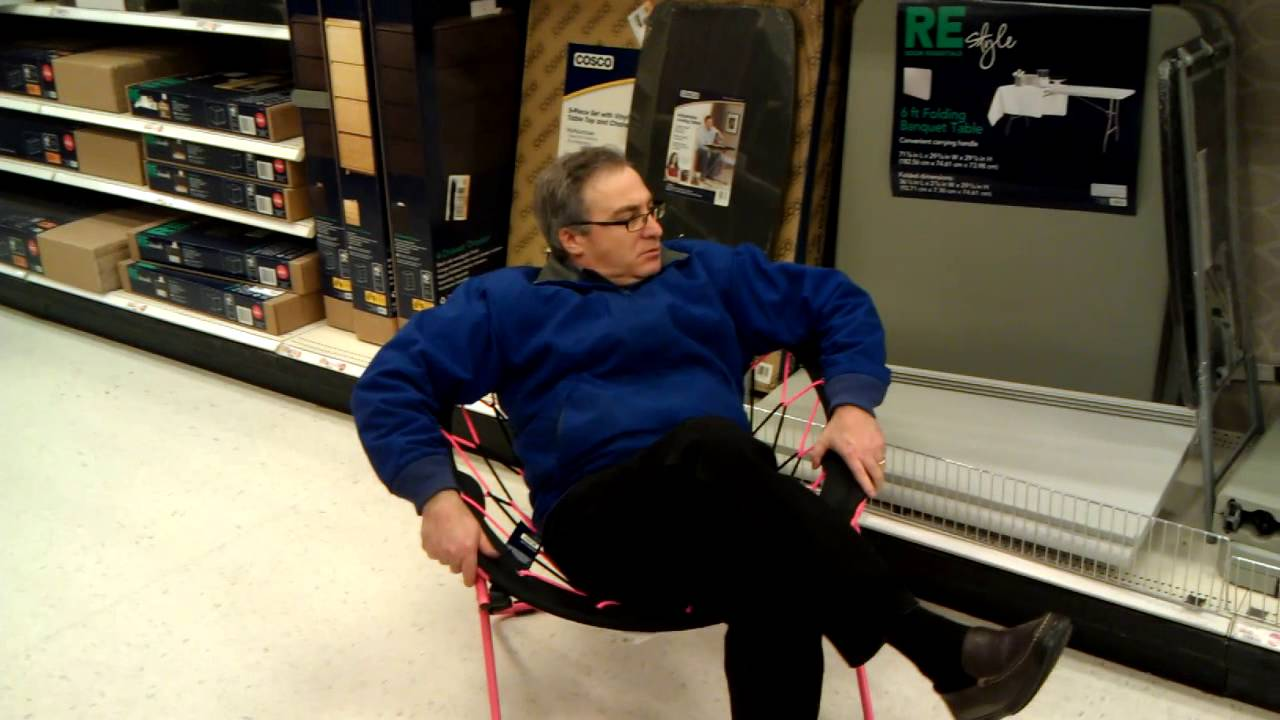 sc 1 st  YouTube & Gary likes a bungee cord chair at Target - YouTube