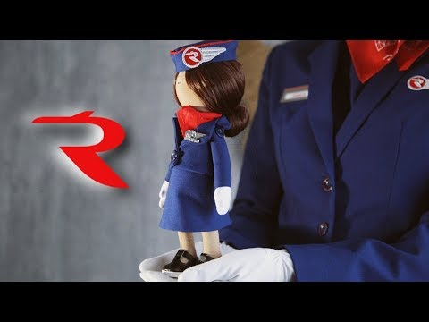 Rossiya Airlines - Handmade Doll (Vitaly Raw Edition)