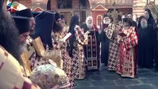 Афон. Ватопедский монастырь.