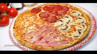 Пицца Пошаговый рецепт Тонкое тесто