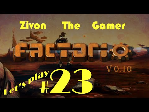 Factorio v.10 Let's Play Episode 23: Blueprints and the Logistical Network