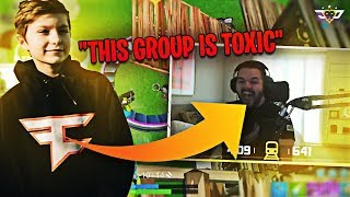 HIGHSKY ROASTS COURAGE?! I THOUGHT WE WERE FRIENDS! (Fortnite: Battle Royale)