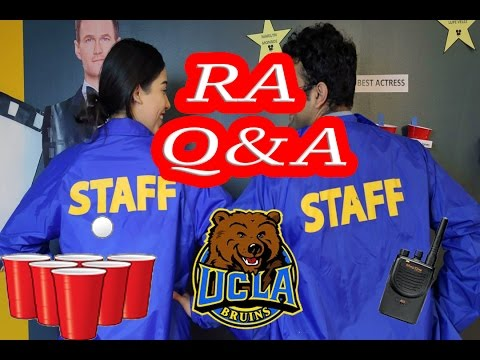 Answering Questions about being an RA