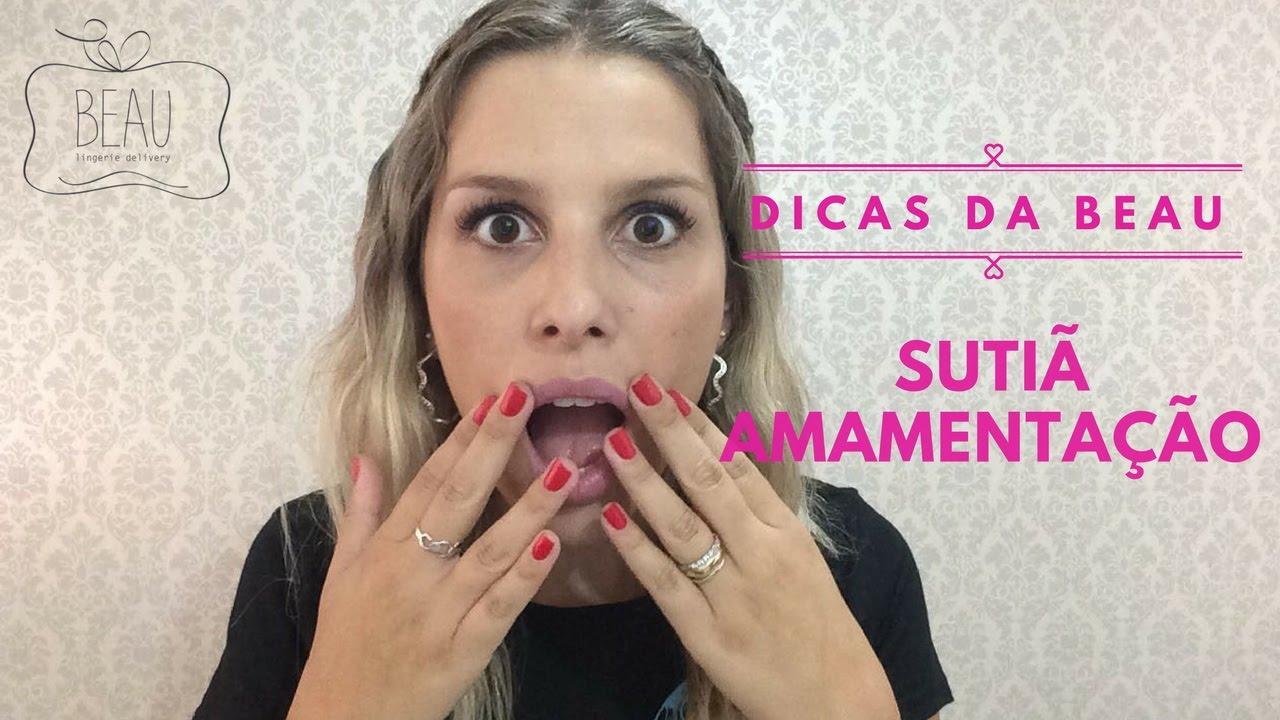 3e1cd7092 Dicas da Beau - Sutiã Amamentação - YouTube