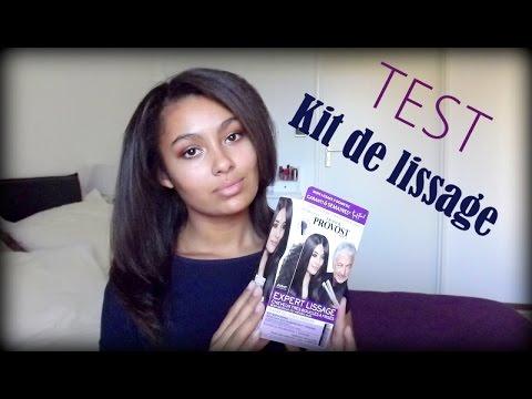 Test kit de lissage franck provost la maison youtube - Franck provost lissage bresilien salon ...