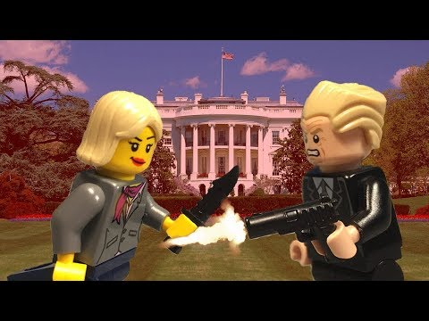 Trump vs Clinton Shootout | 2016 Election | LEGO Animation