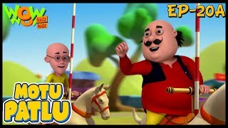 Baixar Cartoons | New Episodes Of Motu Patlu | Funny Videos For Kids | Ep 20A | Wow Kidz