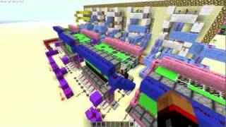 How to Build a Digital Clock in Minecraft! Part 2 [In Game Time!]