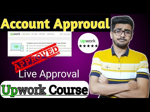 How To Approve Upwork Account In Just 5 minutes | Upwork Account Approved in Just 5 minutes in 2020