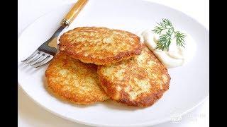 Кулинария с Лизой - Картофельные оладьи
