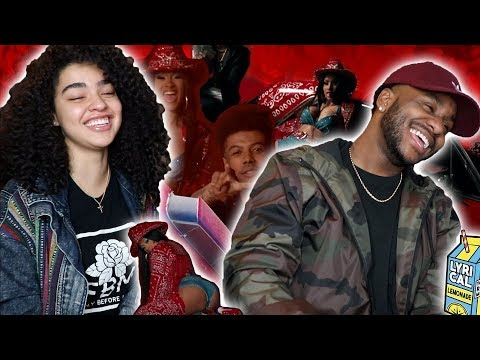 CARDI KILLED IT | Blueface - Thotiana Remix ft. Cardi B (Dir. by @ ColeBennett ) [REACTION]