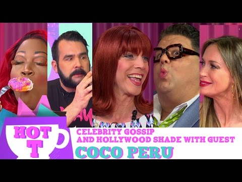 Coco Peru on HOT T! Celebrity Gossip and Hollywood Shade! Season 3 Episode 3