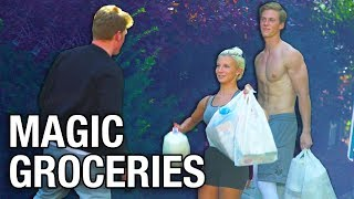 MAGIC GROCERIES TRICK