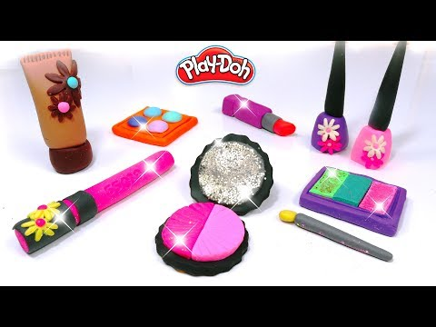 💖-play-doh-makeup-set-how-to-make-eyeshadow-lipstick-✨-nail-polish-with-play-doh-fun-for-kids