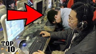 Top 10 Deaths Caused By Playing Video Games