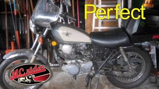 Professional motorcycle inspection by Ichiban Moto - April 1, 2019