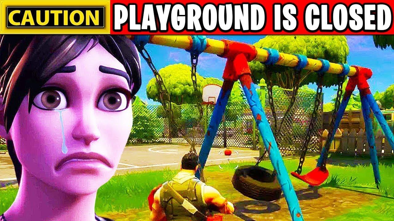 playground road fortnite